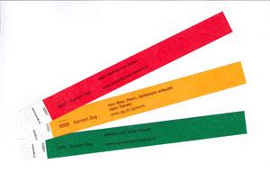 Kontrollbändeli Farbsatz 1 uni